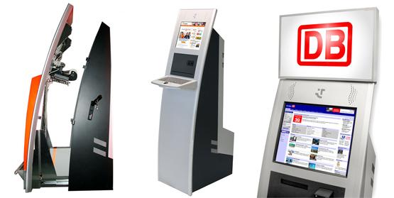 Touch screen pantallas tactiles digitales pantallas for Disenos de kioscos